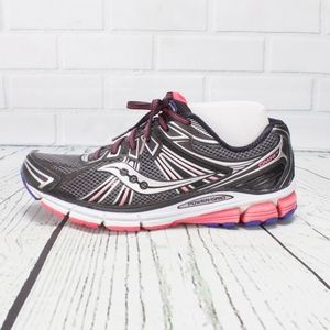 Saucony Power Grid Black Pink Sneakers Size 10